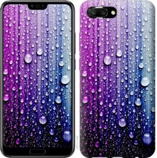 Чехол на Huawei Honor 10 Капли воды
