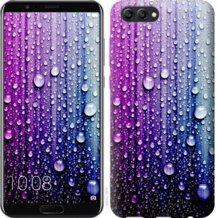 Чехол на Huawei Honor V10 / View 10 Капли воды
