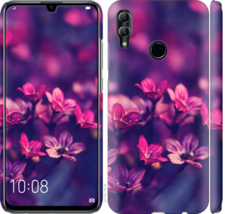 Чехол на Huawei Honor 10 Lite Пурпурные цветы