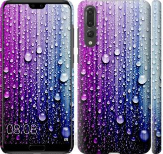 Чехол на Huawei P20 Pro Капли воды