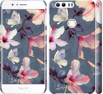 Чехол на Huawei Honor 8 Нарисованные цветы