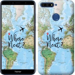 Чехол на Huawei Honor 7A Pro Путешествие