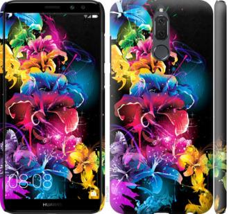 Чехол на Huawei Mate 10 Lite / Honor 9i Абстрактные цветы
