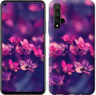 Чехол на Huawei Honor 20 Пурпурные цветы