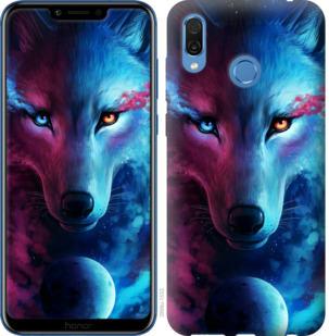 Чехол на Huawei Honor Play Арт-волк