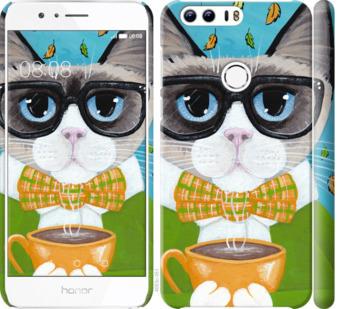 Чехол на Huawei Honor 8 CatandCoffee