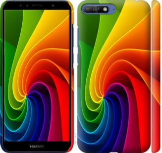 Чехол на Huawei Honor 9 Радужный вихрь