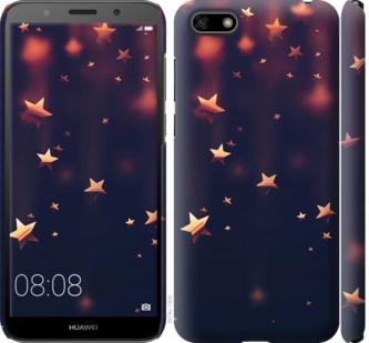 Чехол на Huawei Y5 2018 Падающие звезды