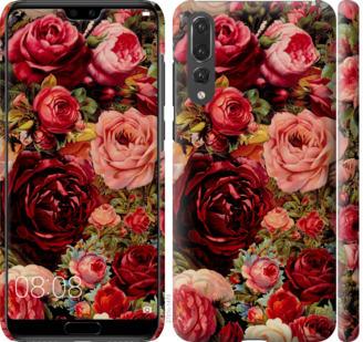 Чехол на Huawei P20 Pro Цветущие розы