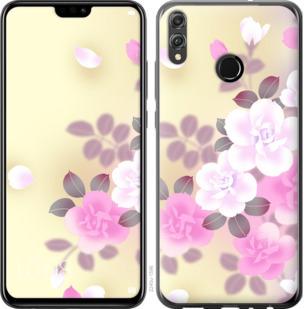 Чехол на Huawei Honor 8X Японские цветы