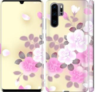 Чехол на Huawei P30 Pro Японские цветы