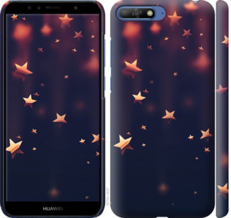 Чехол на Huawei Honor 9 Падающие звезды