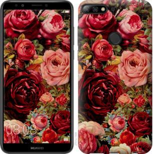 Чехол на Huawei Y7 Prime 2018 Цветущие розы