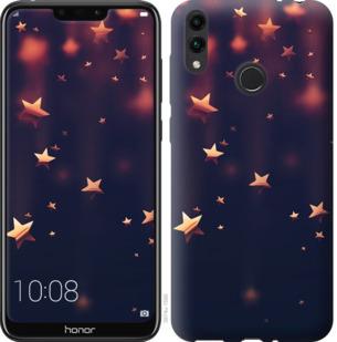 Чехол на Huawei Honor 8C Падающие звезды