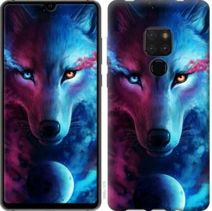 Чехол на Huawei Mate 20 Арт-волк