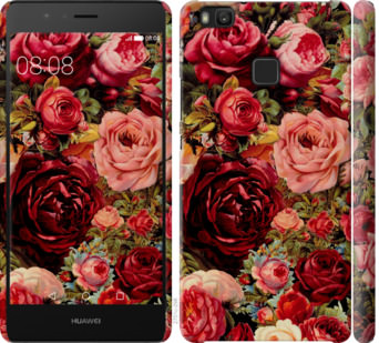 Чехол на Huawei P9 Lite Цветущие розы