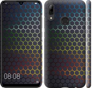 Чехол на Huawei P Smart 2019 Переливающиеся соты