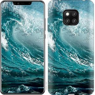 Чехол на Huawei Mate 20 Pro Морская волна