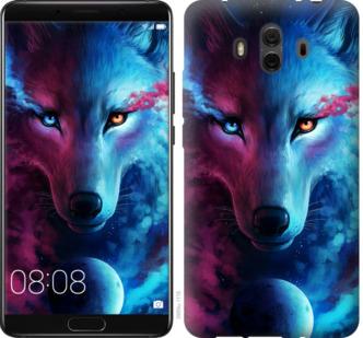 Чехол на Huawei Mate 10 Арт-волк
