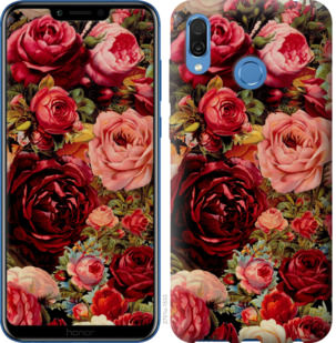 Чехол на Huawei Honor Play Цветущие розы