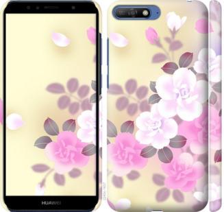 Чехол на Huawei Y6 2018 Японские цветы