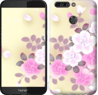 Чехол на Huawei Honor V9 / Honor 8 Pro Японские цветы