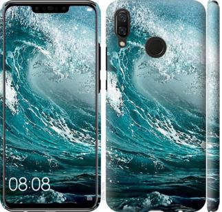 Чехол на Huawei Nova 3 Морская волна