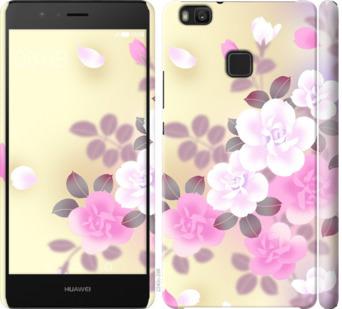 Чехол на Huawei P9 Lite Японские цветы
