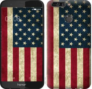 Чехол на Huawei Honor V9 / Honor 8 Pro Флаг США