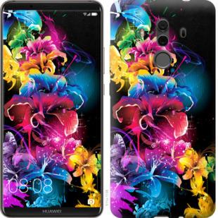 Чехол на Huawei Mate 10 Pro Абстрактные цветы