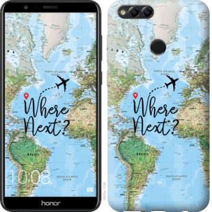 Чехол на Huawei Honor 7X Путешествие
