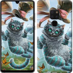 Чехол на Huawei Mate 20 Чеширский кот 2