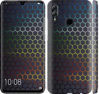 Чехол на Huawei Honor 10 Lite Переливающиеся соты