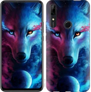 Чехол на Huawei P Smart Z Арт-волк