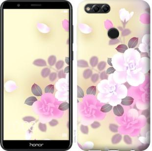 Чехол на Huawei Honor 7X Японские цветы