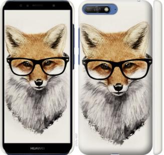 Чехол на Huawei Honor 9 Лис в очках