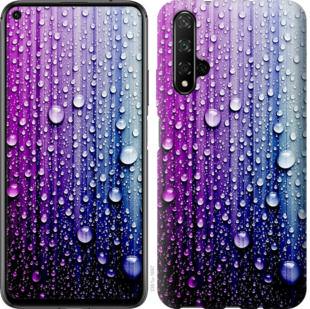 Чехол на Huawei Honor 20 Капли воды