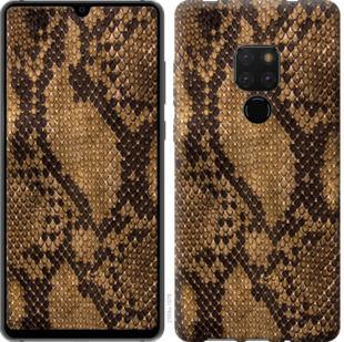 Чехол на Huawei Mate 20 Змеиная кожа