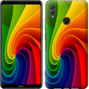Чехол на Huawei Honor Note 10 Радужный вихрь