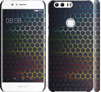 Чехол на Huawei Honor 8 Переливающиеся соты