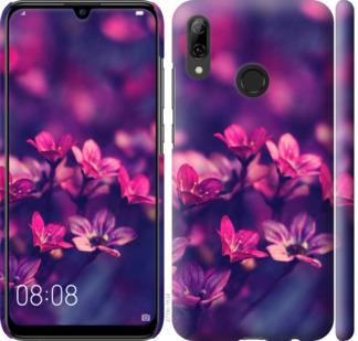 Чехол на Huawei P Smart 2019 Пурпурные цветы