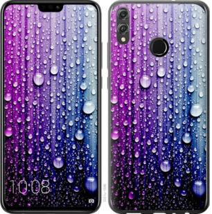 Чехол на Huawei Honor 8X Капли воды