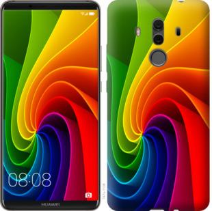 Чехол на Huawei Mate 10 Pro Радужный вихрь