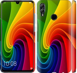 Чехол на Huawei Honor 10 Lite Радужный вихрь