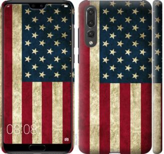 Чехол на Huawei P20 Pro Флаг США