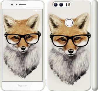 Чехол на Huawei Honor 8 Лис в очках