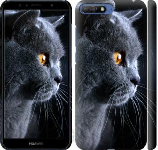 Чехол на Huawei Honor 9 Красивый кот