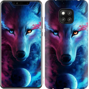 Чехол на Huawei Mate 20 Pro Арт-волк