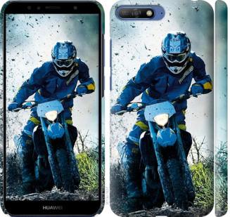 Чехол на Huawei Honor 9 Мотокросс
