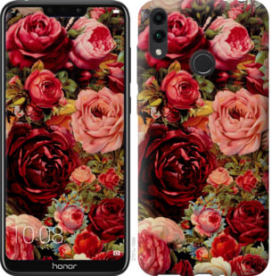 Чехол на Huawei Honor 8C Цветущие розы